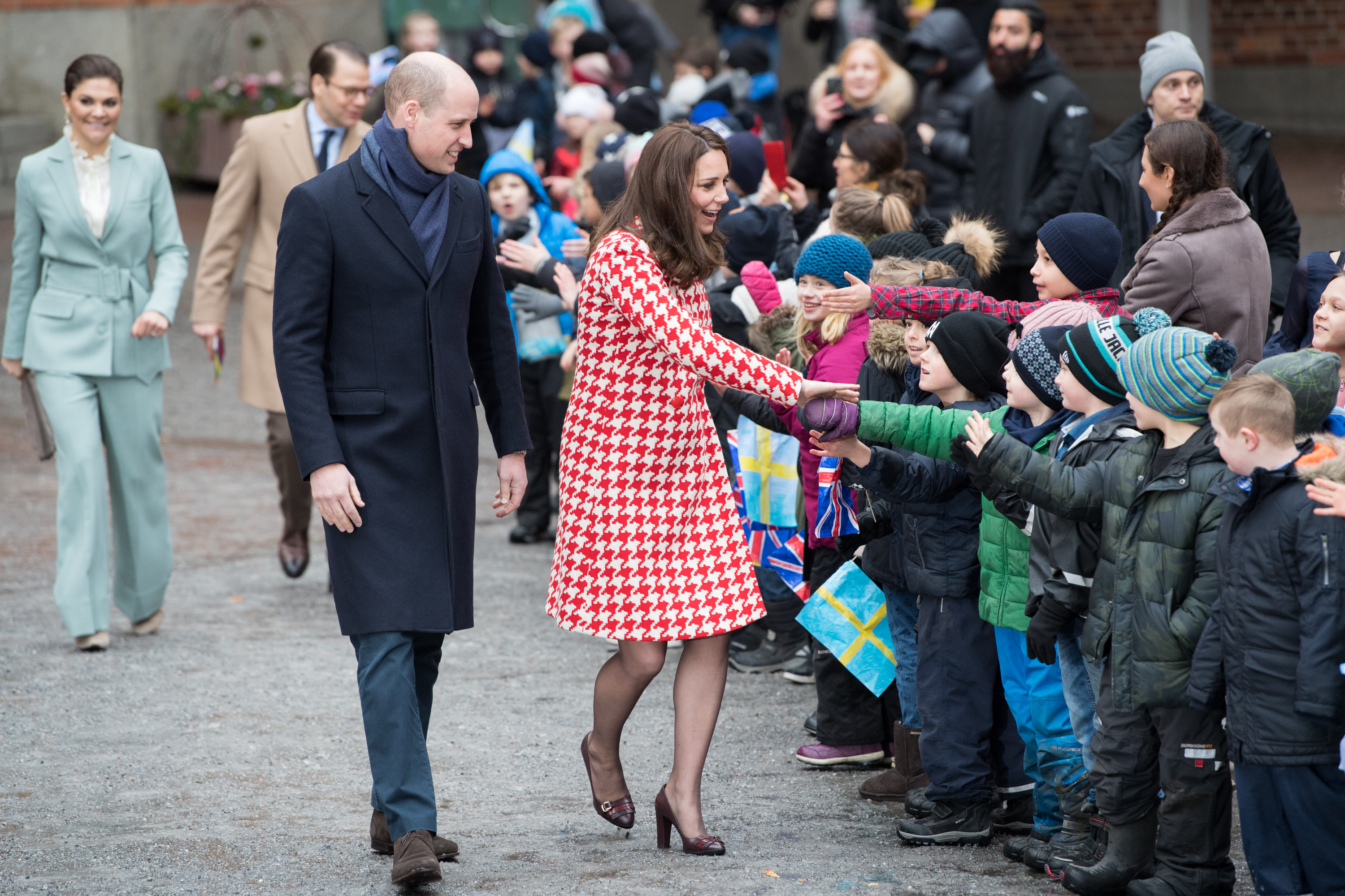 The Duke And Duchess Of Cambridge Visit Sweden And Norway – Day 2