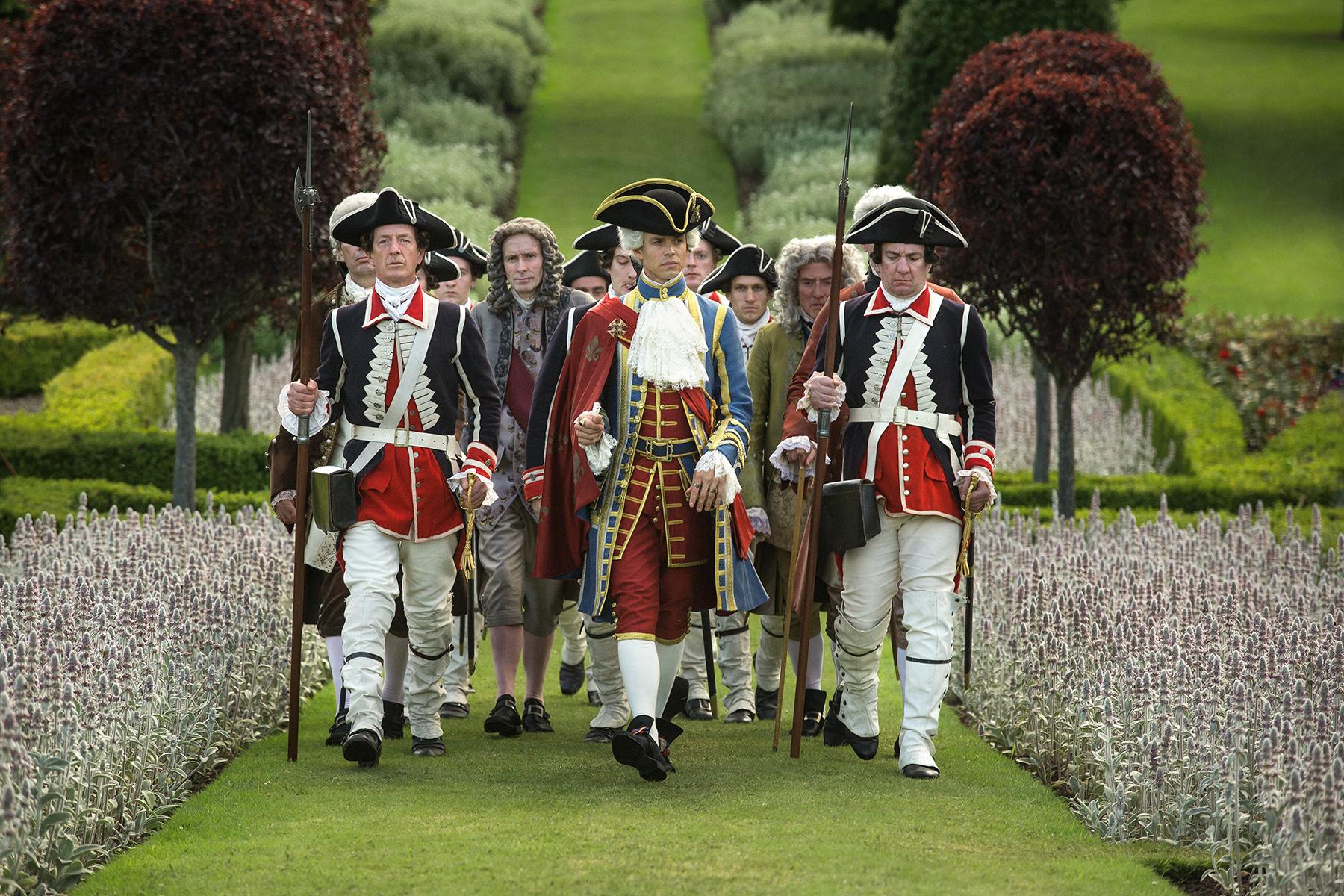 Lionel Lingelser as King Louis XV in 'Outlander' Season 2, Episode 5 — 'Untimely Resurrection'