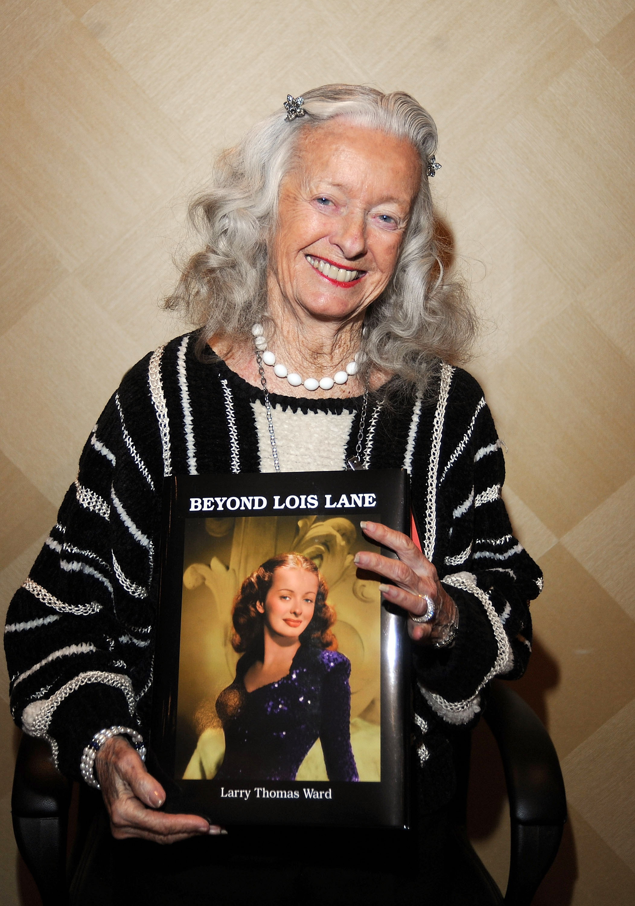 Noel Neill (Lois Lane) attends the 2009 Chiller Theatre Expo