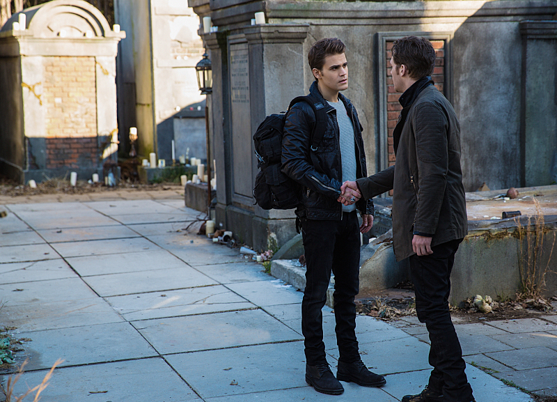 The Vampire Diaries': Stefan Salvatore Scenes From Season 7