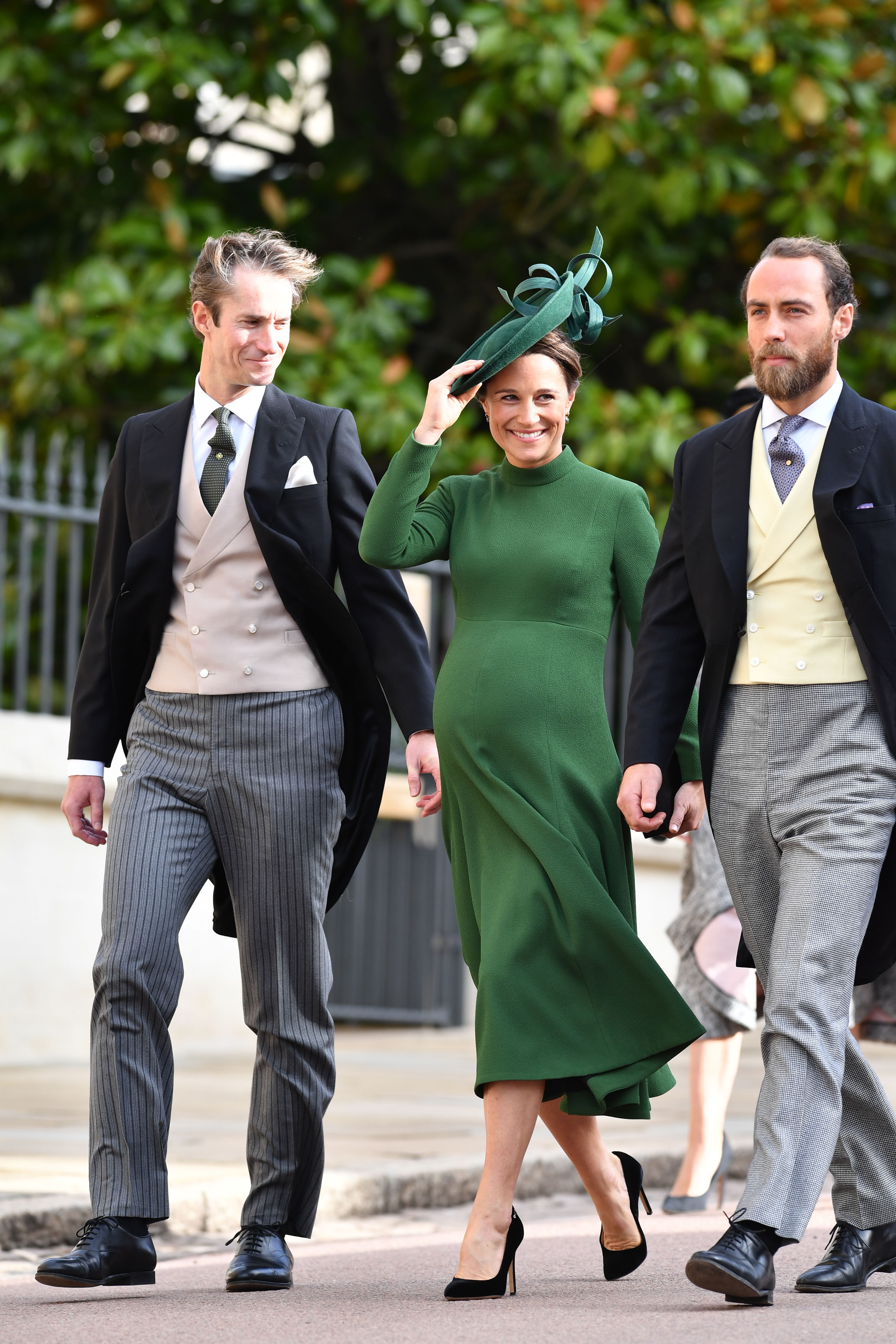 Pippa Middleton, James Matthews & James Middleton