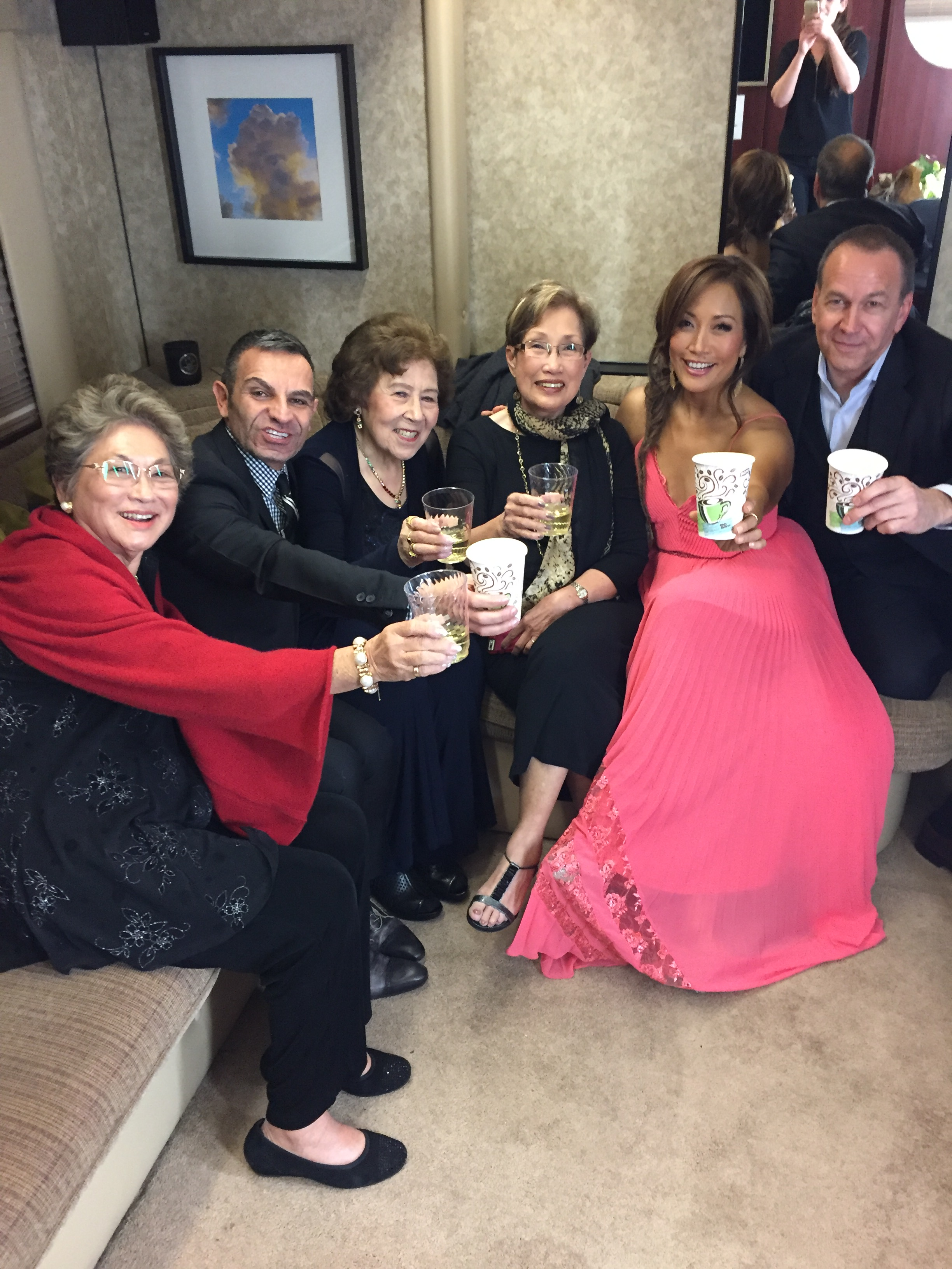 Carrie Ann Inaba's 'Dancing With the Stars' blog, Week 2 pic: Backstage at 'Dancing'