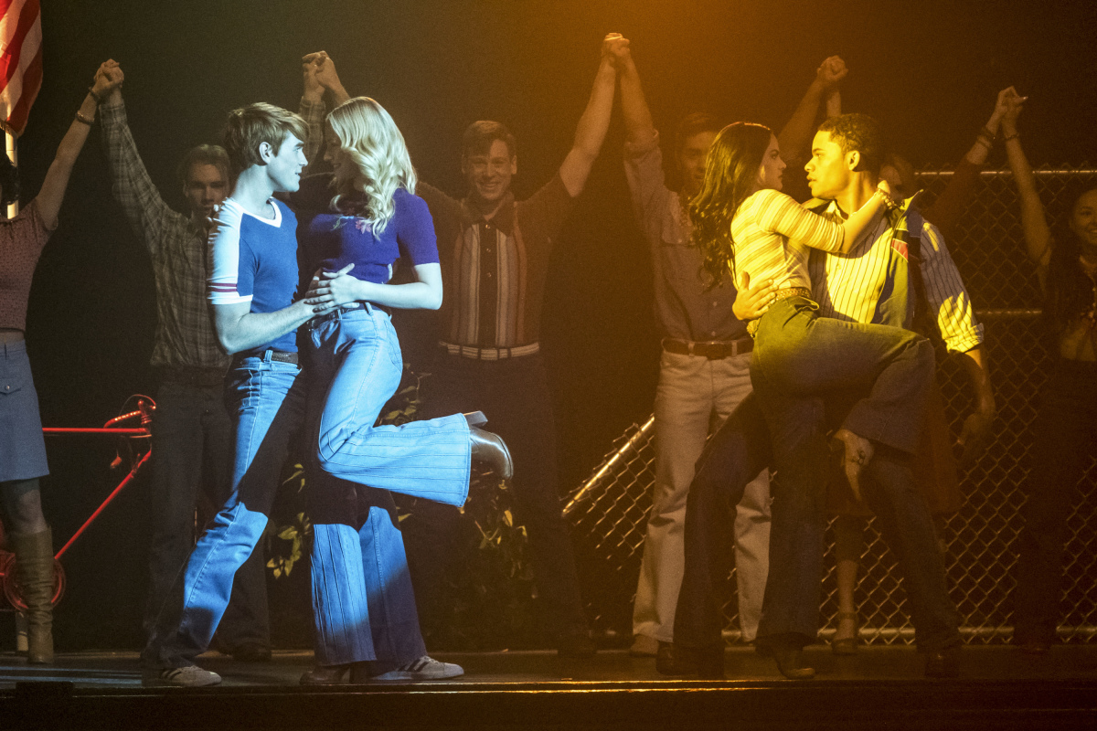A scene from 'Riverdale's' 'Carrie: The Musical' episode