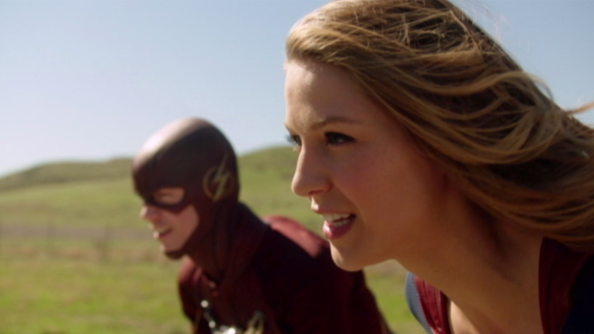 Supergirl'/'The Flash' Crossover: Behind-The-Scenes Sneak
